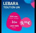 LEBARA forfait 9,99