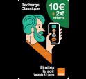 Mobicarte 10€ + 2€ de crédit offerts