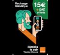 Mobicarte 15€ + 5€ de crédit offerts