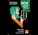 Mobicarte 50€ + 20€ de crédit offerts