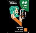 Mobicarte 5€ + 1€ de crédit offert