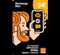 Mobicarte Max 5€