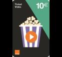 Ticket Orange Video 10€