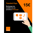 Transfert Pays 15 €