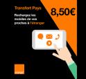 Transfert Pays 8,50 €