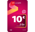 SFR La Carte Internet Mobile 10€