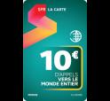 SFR La Carte MONDE 10€