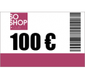 Recharge SoShop.club 100 €