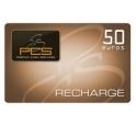 Recharge PCS MasterCard® 50€