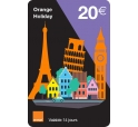 mobicarte Holiday 20€