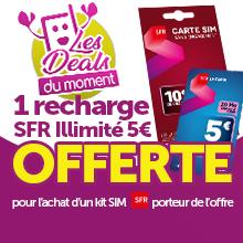 Carte SIM Prépayée - offre promotionnelle